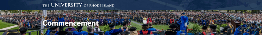 Prochaska Legacy - URI Graduate Commencement Address 2019